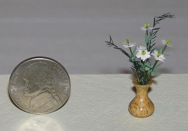 Wye Oak Wood Miniature Flower Vase Firewood Treasures Wood